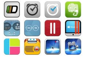 Baco Flurry 3 Icons