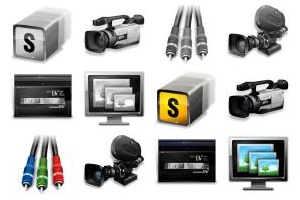 Real Vista Video Production Icons