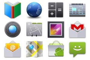 Android Style Honeycomb Icons