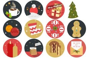 Christmas Advent Iconset