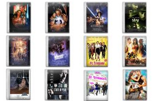 Movie Mega Pack 2 Icons 바 FirstLine1