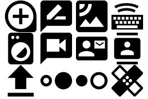 Ultimate glyphicons