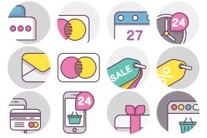 Shop - Payment Vol.7 Icons